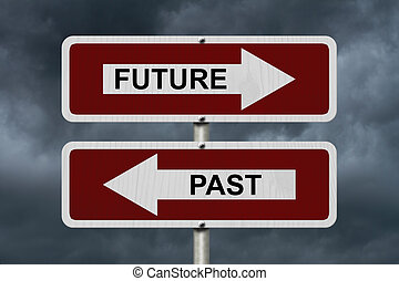Future versus Past