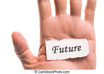 Future word in hand