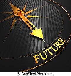 future., zakelijk, achtergrond.