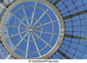 futurista, cúpula