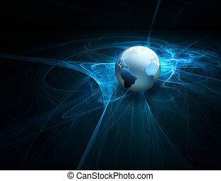 futurista, tecnología