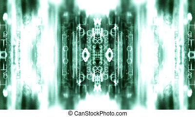 futurista, tecnología, pantalla, 10544