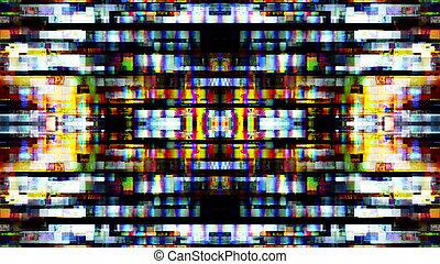 futurista, tecnología, pantalla, 10549