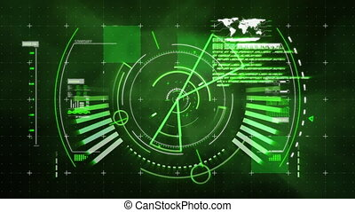 futuriste, interface
