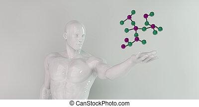 futuriste, science, fond