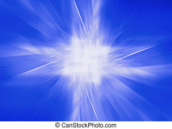 futuristic abstract metamorphosis - greased bright multi-...