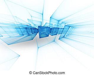 Futuristic background - futuristic technology background...