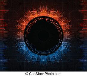 futuristic background, eps10 vector