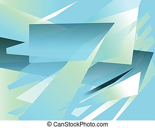 Futuristic background with angular, edgy shapes. Abstract ...
