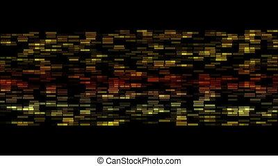Futuristic blinking stripe background animation, loop HD ...