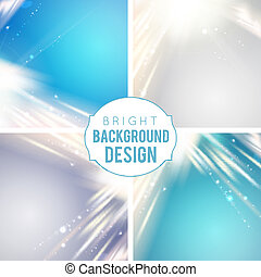 Futuristic blue abstract glowing background.