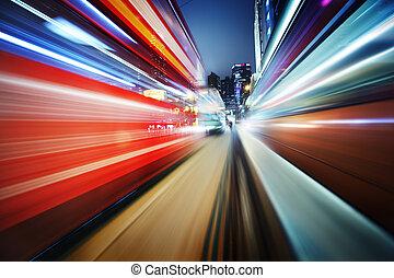 Futuristic blur background