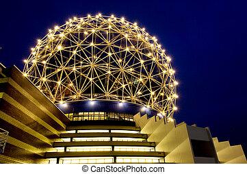 Futuristic building - Science center in Vancouver, Canada