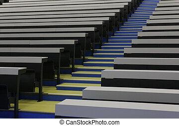 Futuristic classroom