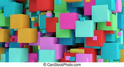 Futuristic Copyspace Background