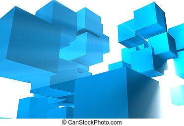 Futuristic Cubes