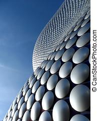 Futuristic Curved Building Exterior