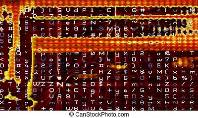 Futuristic Digital Tech Display 10683