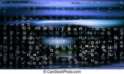 Futuristic Digital Tech Display 10690