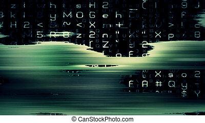 Futuristic Digital Tech Display 10705