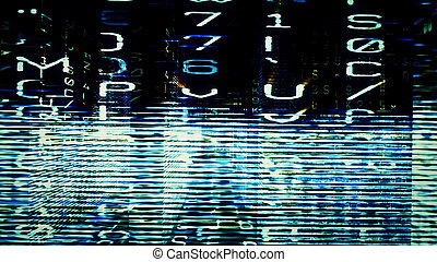 Futuristic Digital Tech Display 10707