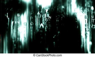 Futuristic Digital Tech Display 10708