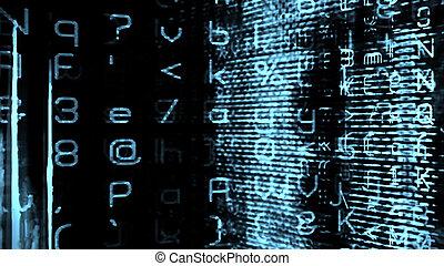 Futuristic Digital Tech Display 10758