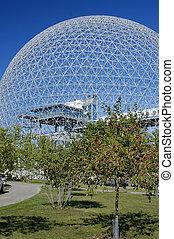 Dome Building - Futuristic Dome Building