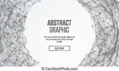 Futuristic Earth Globe. Abstract Technology Futuristic Network. Big Data Complex Vector. Digitally Generated Image. Vector Wireframe Sphere Illustration.