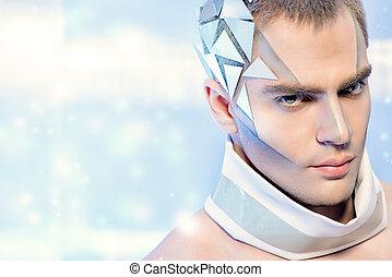 futuristic, ember