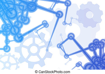 Futuristic Factory Robot Arms Abstract - Futuristic Factory...