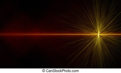 Futuristic glowing light flare background design illustration