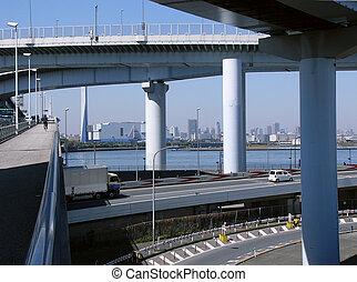 futuristic highway s