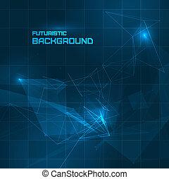 Futuristic HUD background for your design
