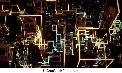Futuristic Network.