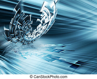 Futuristic technology abstract background for your projects