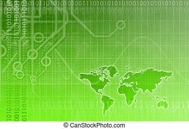 Futuristic Technology Abstract - Futuristic Technology Data...