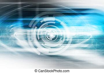 Futuristic Technology Background