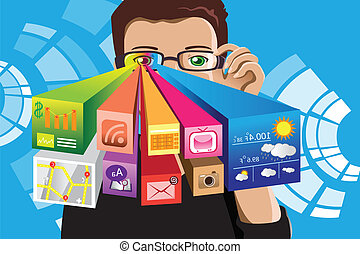 information technology clipart vector and illustration 256 188 rh canstockphoto com information technology business clipart information technology clipart free