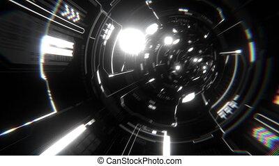 Futuristic Tunnel VJ