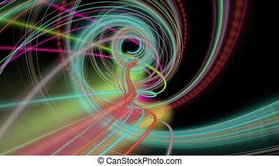 Futuristic video animation, loop HD - Futuristic video...