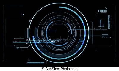 Futuristic viewfinder - High quality futuristic viewfinder....