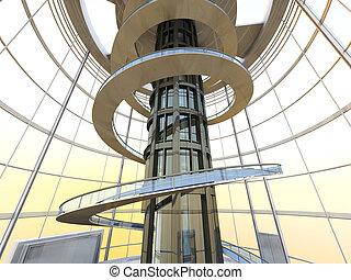 futuristico, architettura