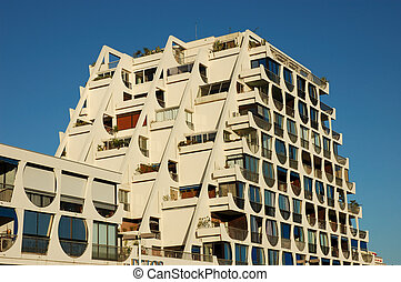 futuristico, costruzione