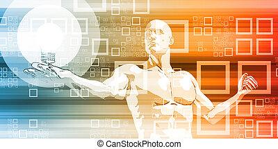 futuristico, interfaccia