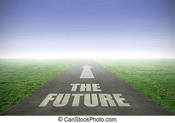 futuro, avanti