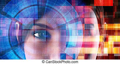 futuro, de, tecnologia