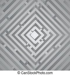 futuro, labirinto