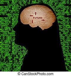 futuro, mente