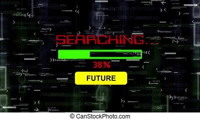 futuro, ricerca, linea